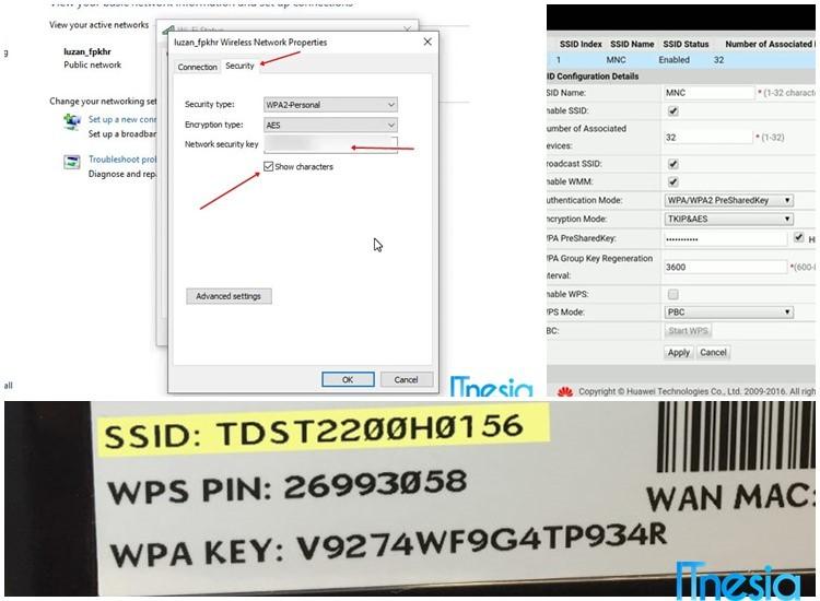 Cara Mengetahui Password WiFi Untuk Yang Lupa Password WiFi