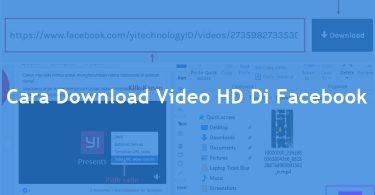 Cara Download Video Di Facebook PC (Gampang Banget)