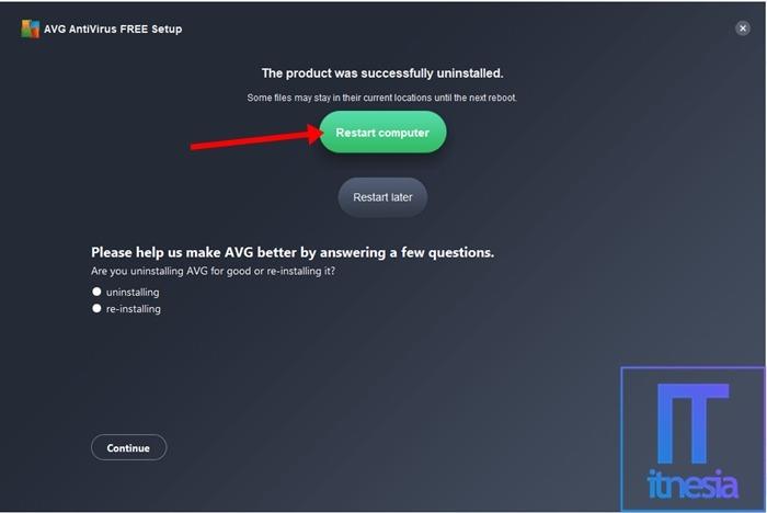 Cara Mematikan Antivirus AVG Secara Permanen 6