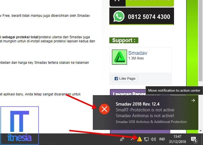 Cara Mematikan Antivirus Smadav Untuk Sementara 3