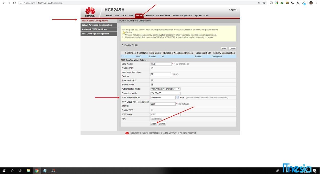 Cara Mengganti Password WiFi ZTE Lewat HP 2