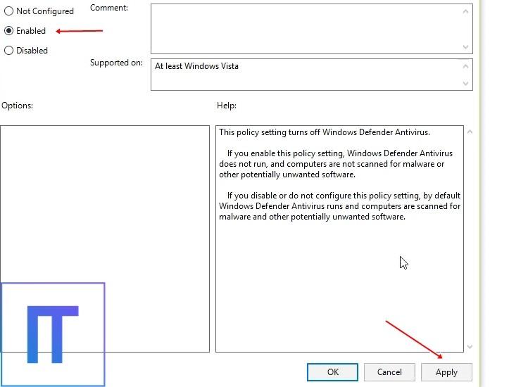 Cara Menonaktifkan Windows Defender Secara Permanen Melalui Local Group Policy Editor 4