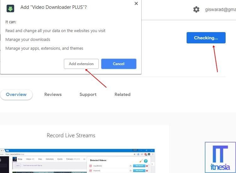 Download Video Facebook Di Chrome Menggunakan Extension Video Downloader Plus