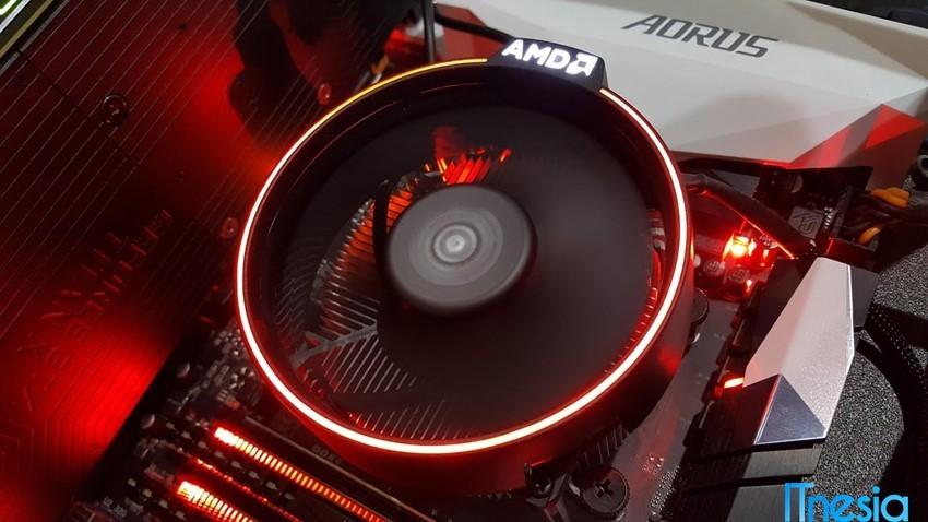 Pilih Intel atau AMD Heatsink Cooler AMD Ryzen 7