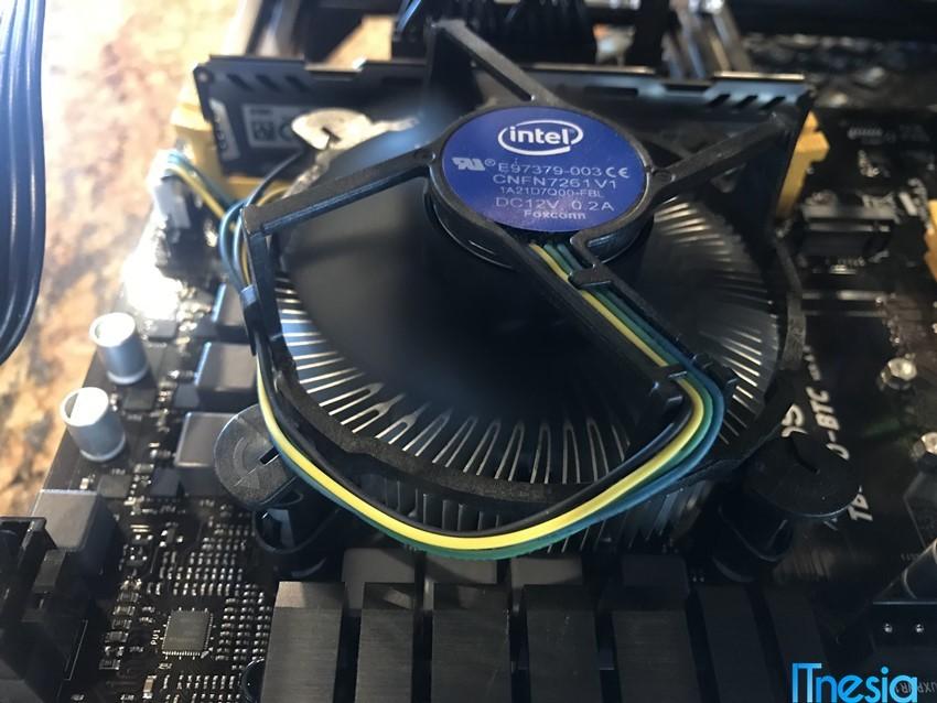 Pilih Intel atau AMD Heatsink Cooler Intel Coffeelake