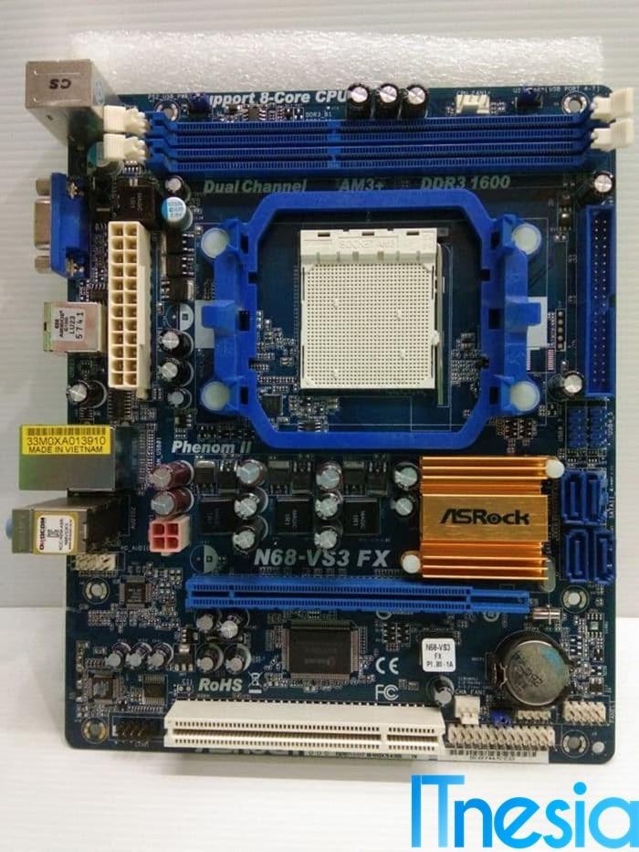 Rakit PC Gaming 4 Jutaan (Yang Penting Bisa Main PUBG) Asrock N68-VS3 FX (bekas)
