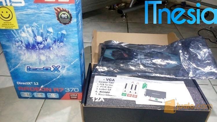 Rakit PC Gaming 4 Jutaan (Yang Penting Bisa Main PUBG) R7 370 IceQ X2 OC GDDR5 - HIS (bekas)