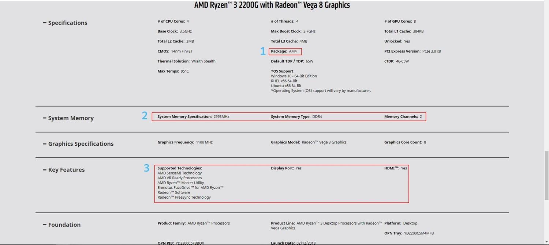 Tips Memilih Motherboard AMD Ryzen 3 2200g