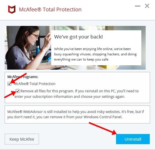 Cara Mematikan Antivirus McAfee Secara Permanen 3