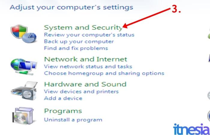 Cara Mematikan Auto Update Windows 7 - Jendela Control Panel Windows 7