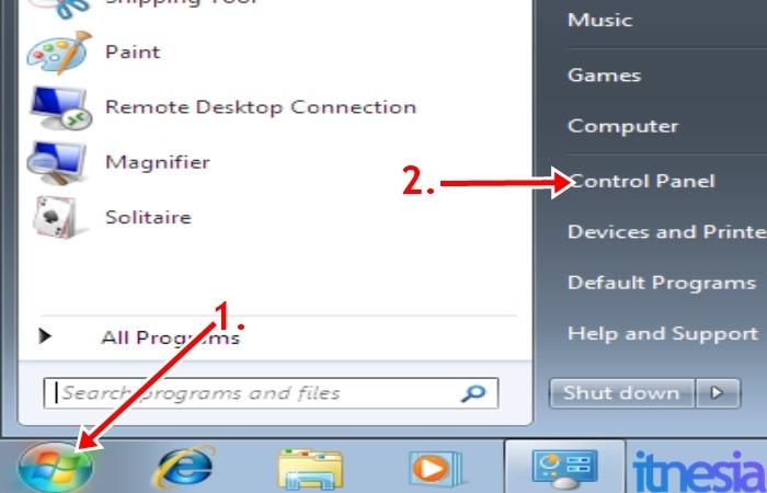 Cara Mematikan Auto Update Windows 7 - Start Menu Windows 7