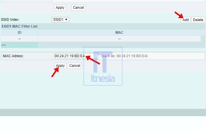 Cara Memblokir Pengguna WiFi Indihome (Fiberhome) - Penambahan MAC Address