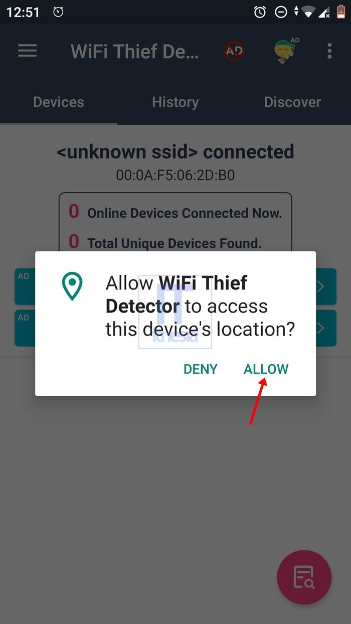 Cara Memblokir Pengguna WiFi Yang Tidak Dikenal - Izinkan Semua Yang Diperlukan Aplikasi
