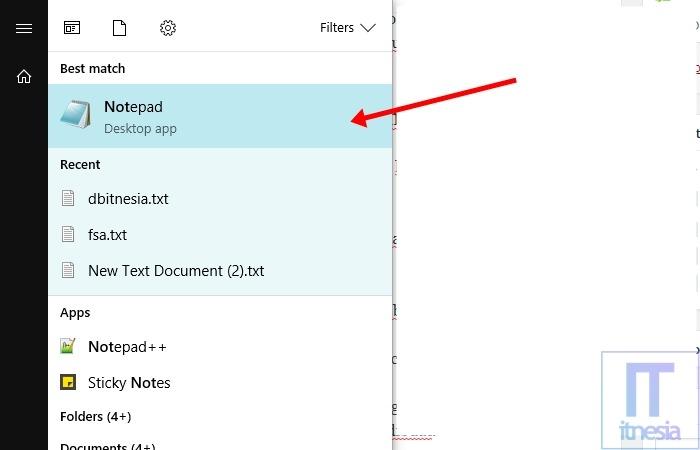 Cara Mengunci Folder Dengan Notepad - Notepad
