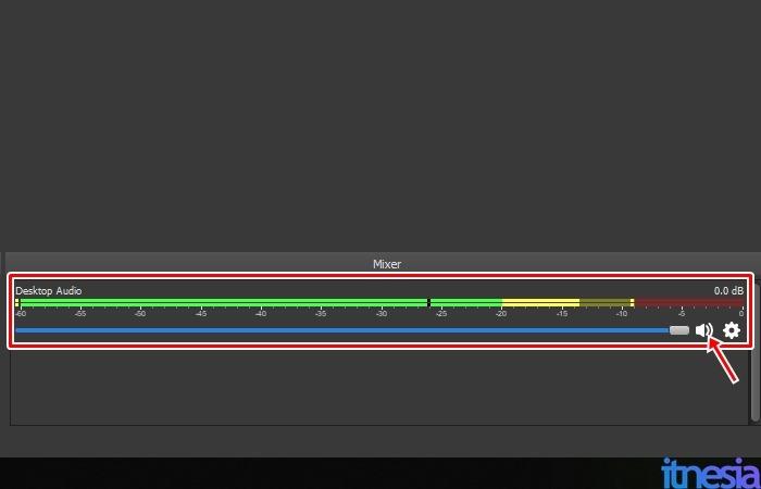 Cara Merekam Layar Laptop Dengan OBS - Pengaturan Audio Komputer