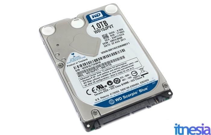 HDD 2.5-inch SATA WD Scorpio Blue