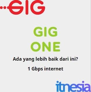 Harga Paket Internet Indosat GIG Perbulan - GIG ONE