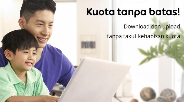 Harga Paket Internet Indosat GIG Perbulan - Kuota Unlimited