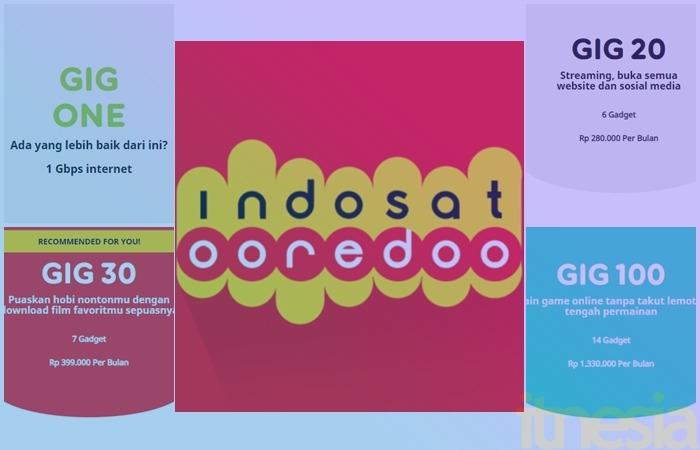 Harga Paket Internet Indosat Gig Perbulan Wifi Di Rumah Itnesia