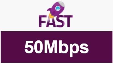 Harga Paket Internet MyRepublic Termurah - Paket Fast 50Mbps