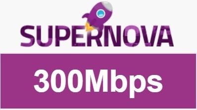 Harga Paket Internet MyRepublic Termurah - Paket Supernova 300Mbps