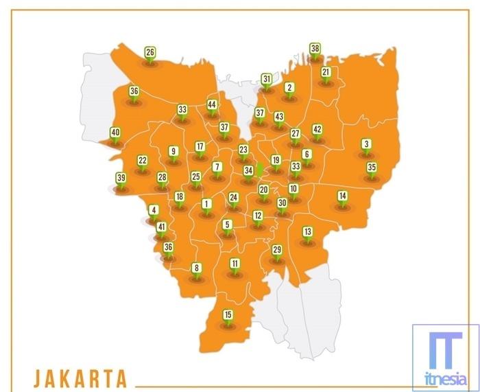 Harga Paket MNC Play Perbulan - Jangkauan Wilayah MNC Play Jakarta