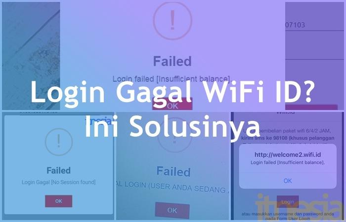Login Gagal Wifi Id Ini Solusinya 100 Berhasil Itnesia