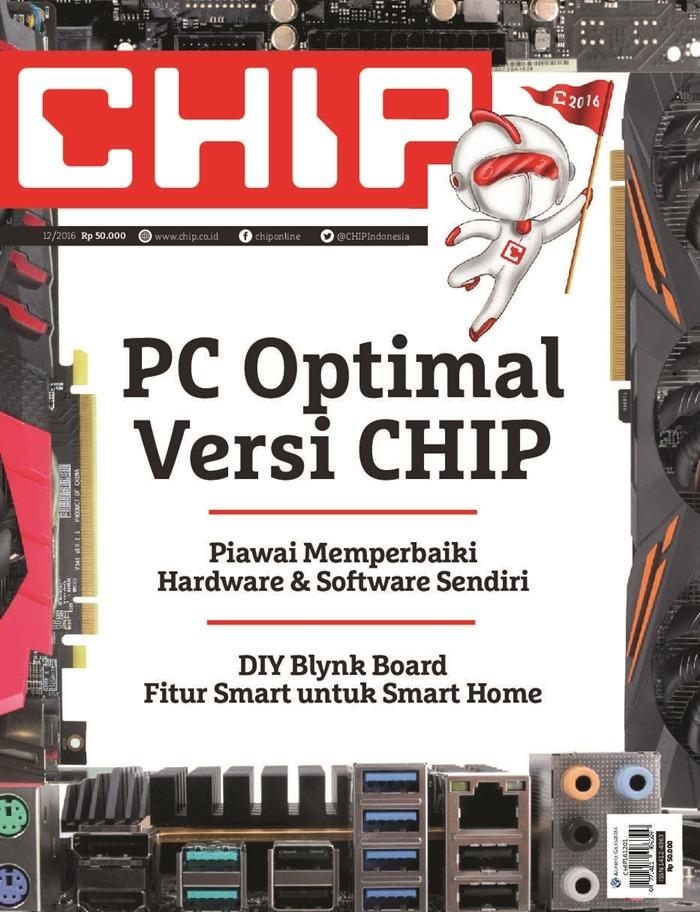 Majalah Komputer Di Indonesia - Chip Terbitan Terakhir Desember 2016