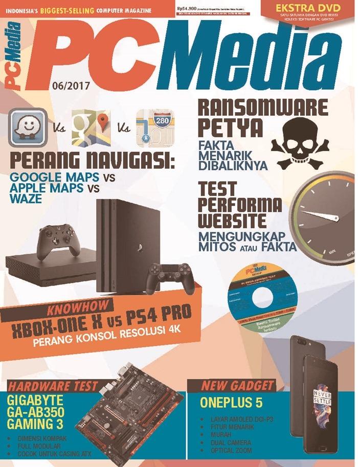 Majalah Komputer Di Indonesia - PCMedia Terbitan Terakhir Juni 2017