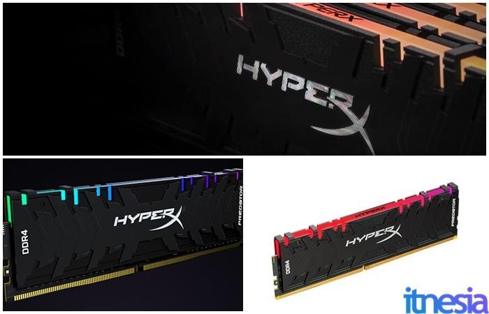 Merk RAM Kingston HyperX Predator DDR4 RGB