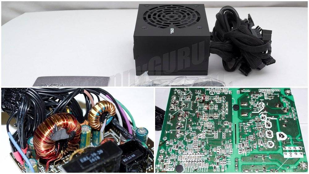 Power Supply Komputer Tier 7 - Atas Packaging Standar, Kiri Komponen Elektronik Taiwan, Kanan Layout & Soldering PCB ciri khas PSU Murah