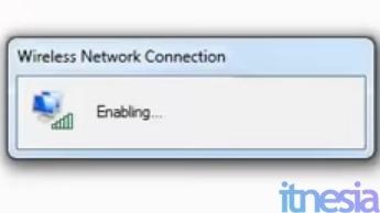 Proses Enabling WiFi