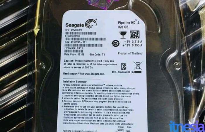 Rakit PC Gaming 2 Jutaan - 320GB Seagate
