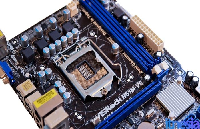 Rakit PC Gaming 2 Jutaan - Asrock LGA 1155 H61 DDR3