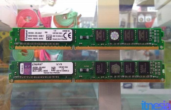Rakit PC Gaming 2 Jutaan - Kingston DDR3 4GB PC12800 x 2