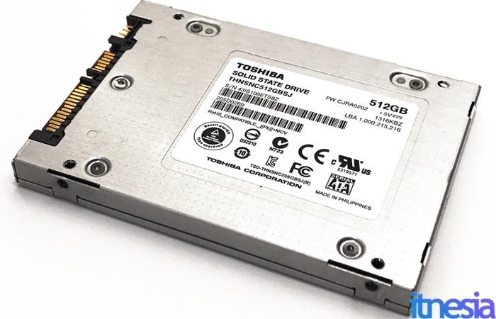 SSD 2.5 SATA Toshiba 512GB THNSNC512GBSJ