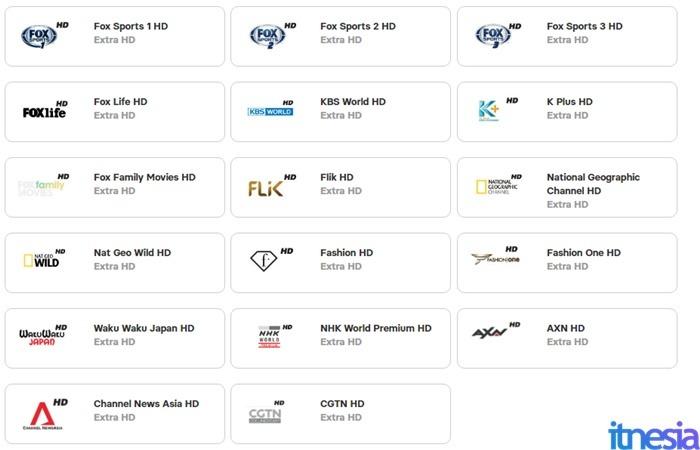 UseeTV Indihome Minipack Extra HD