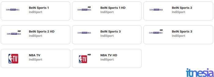 UseeTV Indihome Minipack Indisport