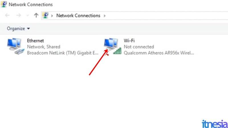 Cara Mengaktifkan WiFi Di Laptop - WiFi Adapter Aktif