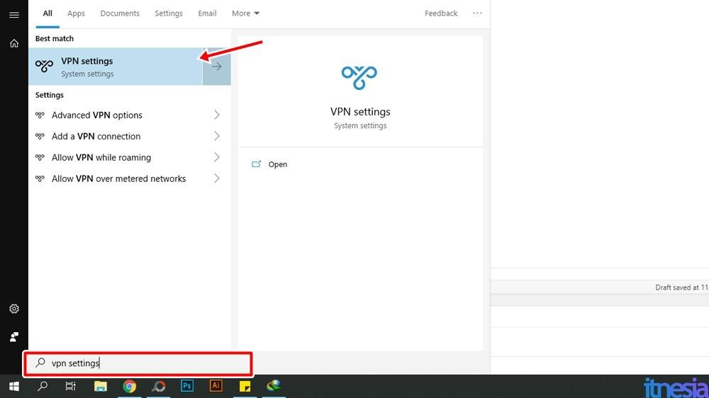 Cara Mengaktifkan VPN Di PC MelaluiPPTP VPN Client Windows 10