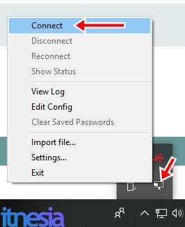 Cara Menggunakan VPN di PC Windows 10 Dengan OpenVPN - Connect ke VPN