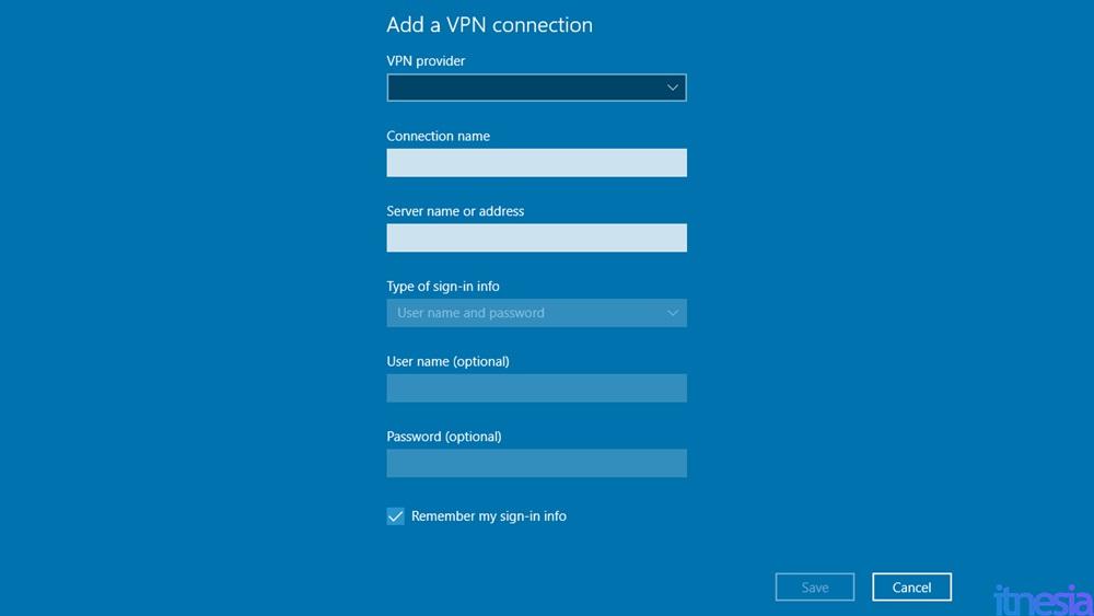 Detail Server VPN