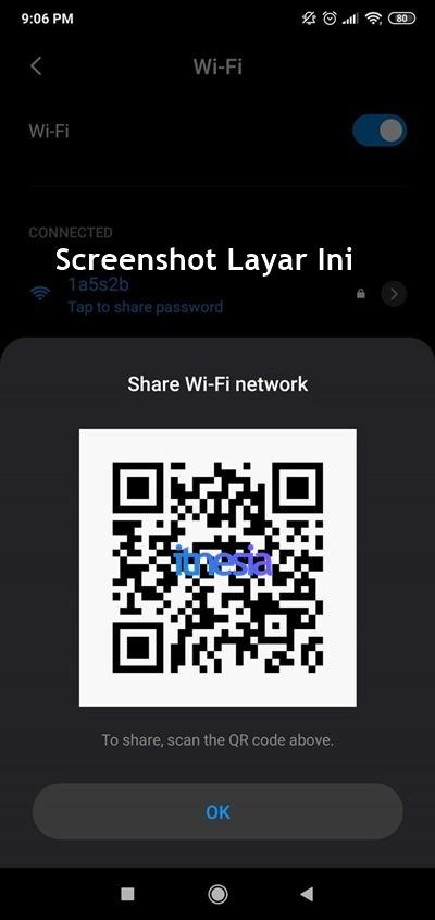 Cara Melihat Password WiFi Di HP Sendiri Melalui QR Code 2