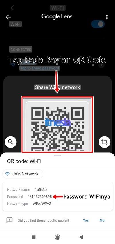 Cara Melihat Password WiFi Di HP Sendiri Melalui QR Code 6