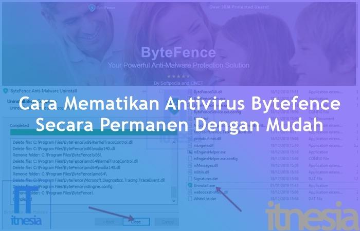 Cara Mematikan Antivirus Bytefence Secara Permanen Dengan Mudah
