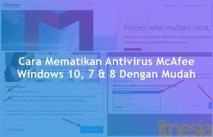 Cara Mematikan Antivirus McAfee Windows 10