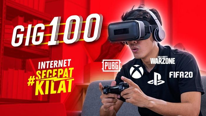 Harga Paket Internet WiFI Rumah Unlimited Indosat GIG Perbulan - GIG 100 2020