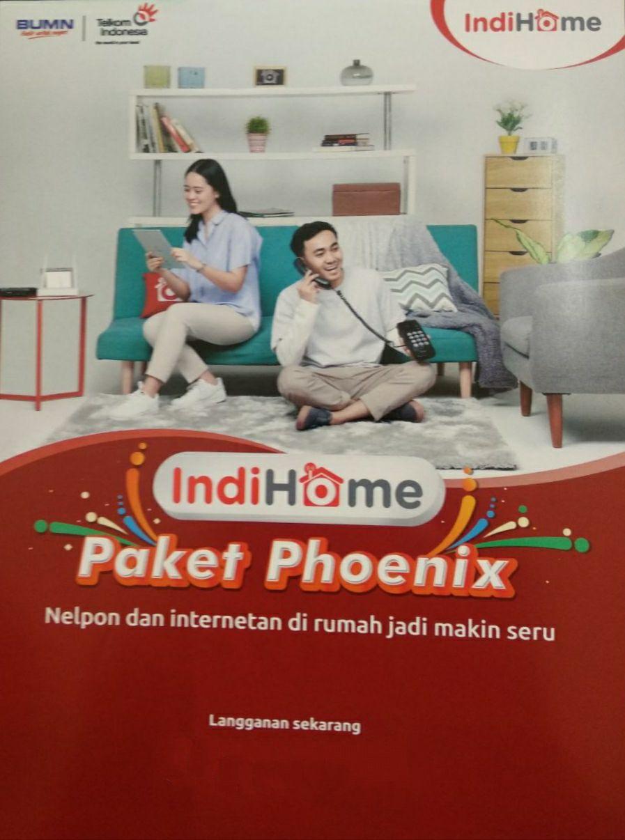 Pasang Indihome Wilayah Jakarta Timur, Depok dan Bekasi Paket Phoenix