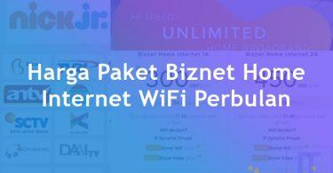 Harga Paket Biznet Home Internet WiFi Perbulan