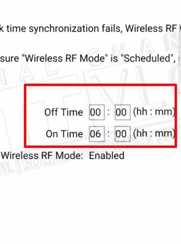 Cara Jadwal WiFi On Off ZTE F609 3